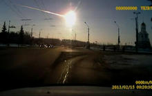 Meteorites fall from the sky in Russia