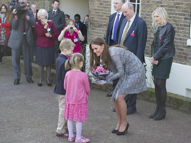 Duchess Kate at London's Hope House