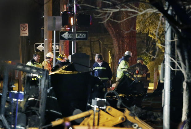 Gas blast rocks Kansas City shopping district