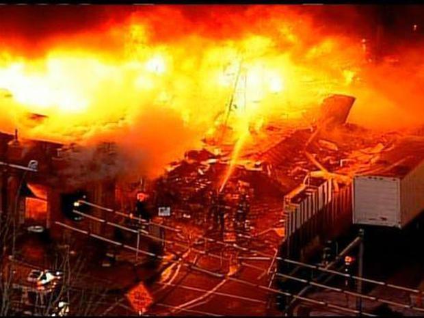 Gas blast rocks Kansas City shopping district