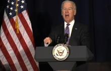 "Biden on violence debate: ""It is about guns"""
