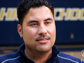 Coach Peter Morales