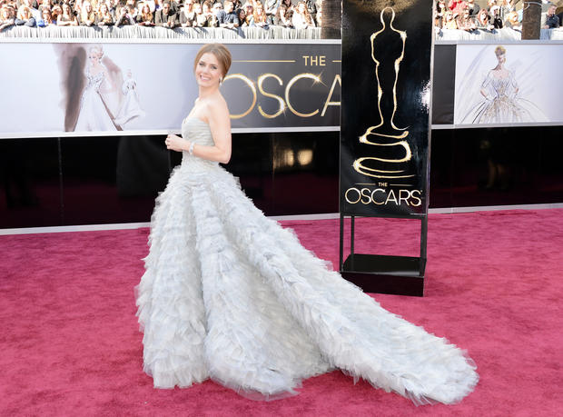 Oscars 2013: Red carpet