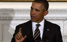 Taxes wouldn't go up under W.H. sequester plan, Obama says