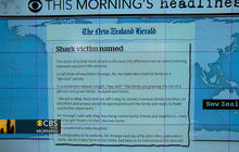 Headlines: Rare fatal shark attack in New Zealand