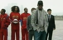 Dennis Rodman hangs out in North Korea