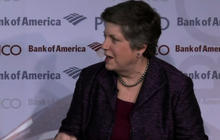 Airport lines already doubling under sequester, Napolitano says