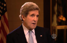 Kerry: U.S. will send aid, but no arms, to Syrian rebels