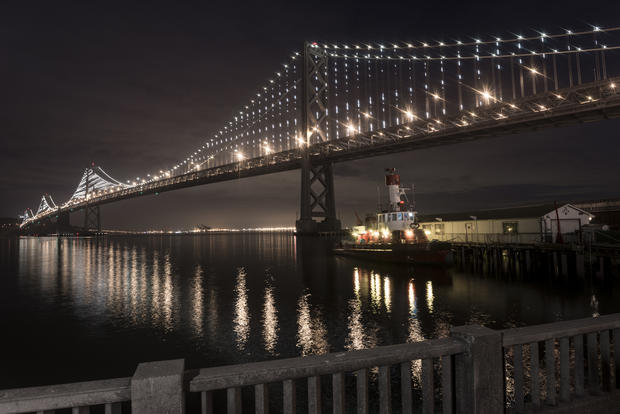 Illuminating the Bay Bridge