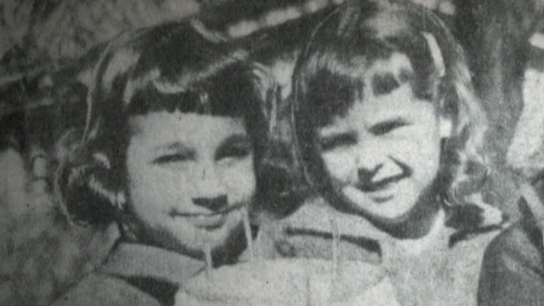 Maria Ridulph, left and her friend Kathy Chapman