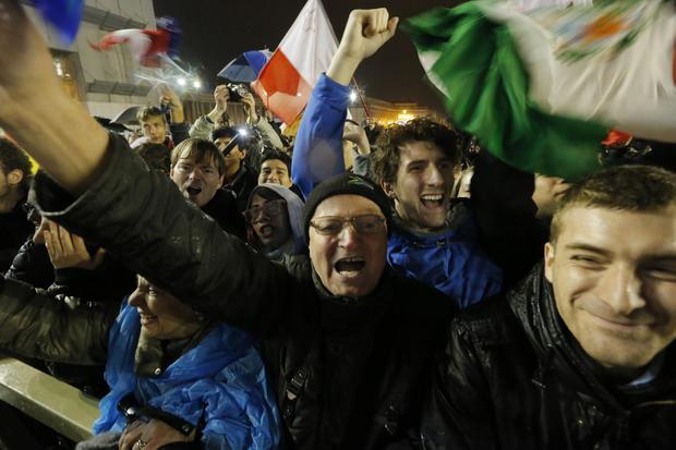 Faithful rejoice over new pope