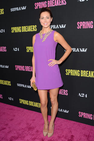 """Spring Breakers"" premieres in L.A."