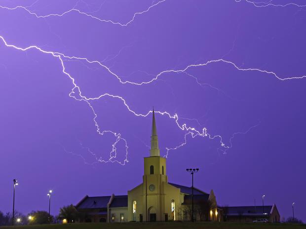 天气,风暴,闪电,阿拉巴马州,严重,通用