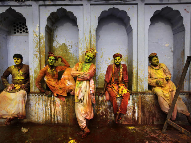 India's Lathmar Holi Festival