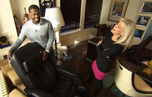 """Web extra video: 50 Cent and his """"girlfriend"""""""