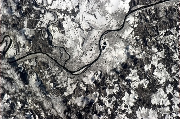 Astronaut's stunning views of Earth