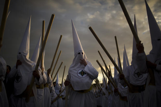 Haunting images of Holy Week in Spain