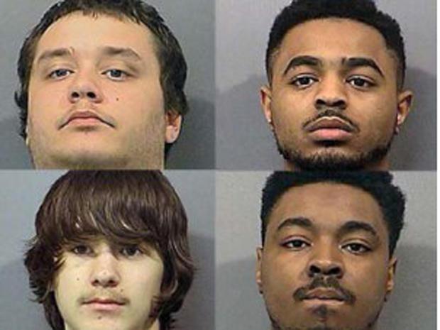 凯文戴尔布朗,顺时针左转; Joshua Nathaniel Addison; Anthony Paul Addison Jr.和Matthew Knight。