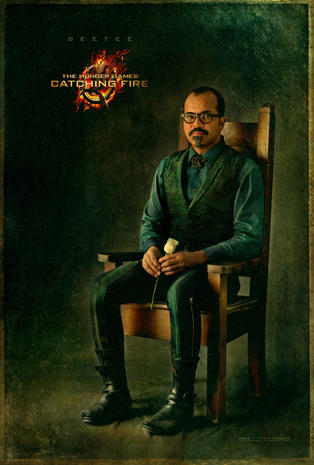 """""""The Hunger Games: Catching Fire"""" cast portraits"""