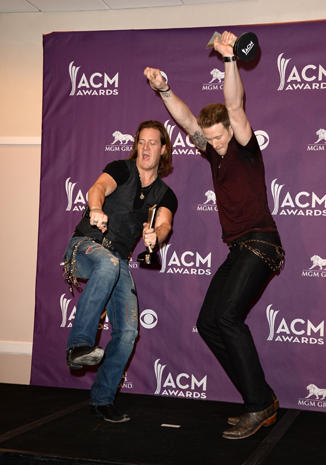 ACM Awards 2013 press room