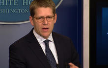 "Carney: Filibustering gun votes the ""less courageous route"""