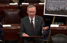 Harry Reid invokes dad's suicide in gun debate