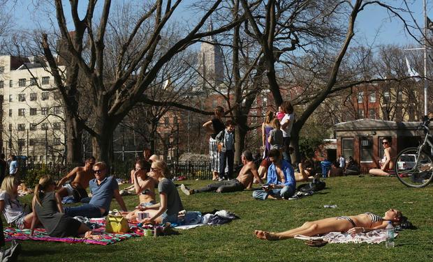 New York gets a taste of summer
