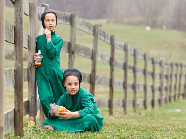 Rare look inside Amish community