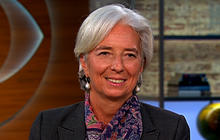 IMF chief on U.S. economy: Fatigue greatest threat to Eurozone