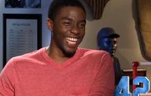 """""""42"""": Chadwick Boseman on playing Jackie Robinson"""