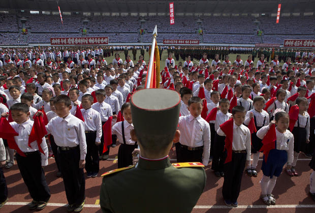 North Korea: Images of patriotism, propaganda