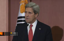 "Kerry in S. Korea, says N. Korea threats ""unacceptable"""