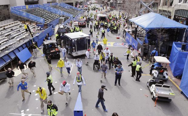 Deadly explosions at Boston Marathon