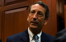 Ex-Gov. Sanford hits bump at restart of career