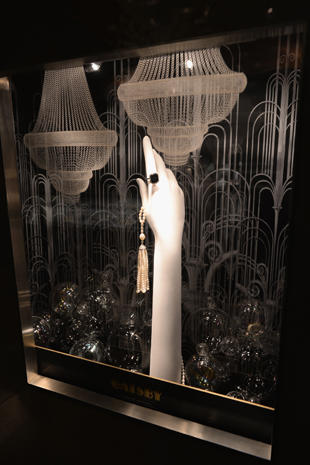 "Tiffany's unveils ""The Great Gatsby"" windows"