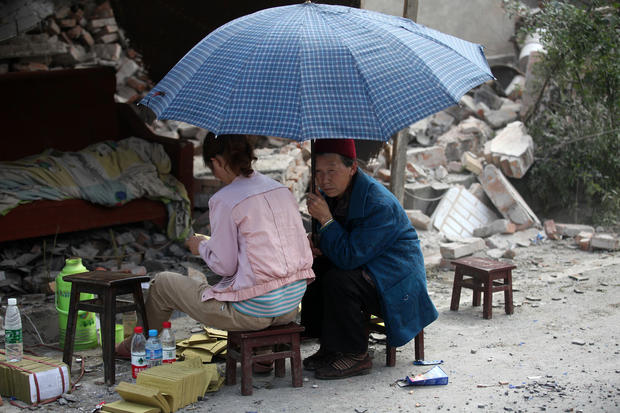 Earthquake hits China's southwest