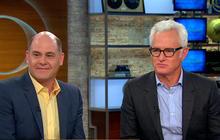 """Mad Men"" creator, actor talk Roger Sterling, show's success"