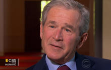 Bush on Boston bombings: Very difficult to stop terrorist attack