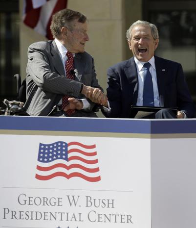 George W. Bush Presidential Center dedication