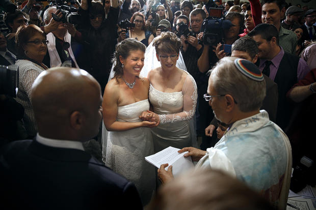 Colorado's first same-sex marriage