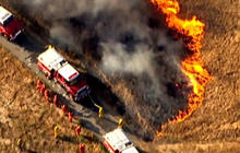 California wildfires fueled by high winds