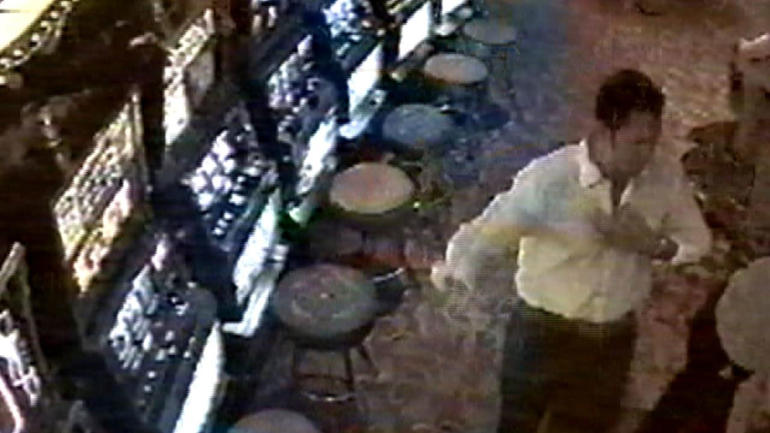 Casino security cameras also captured George at the casino. This is the last known image of George from that night.