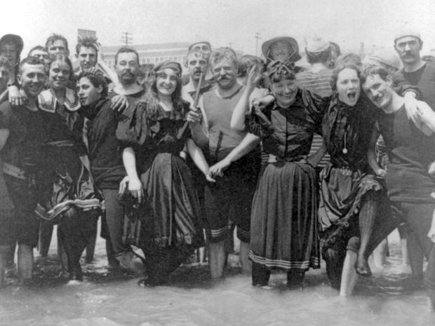 Swimwear through the ages