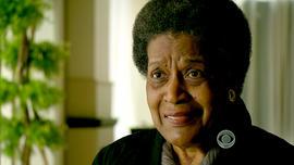 Myrlie Evers, wife of 60s-era civil rights activist Medgar Evers.
