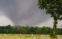 Tornadoes tear through Plains, at least one dead