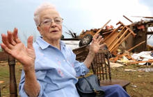 """Tornado aftermath: """"It's raining pieces of houses"""""""