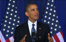 President Obama defends drone strikes