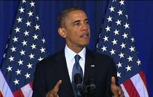 President Obama defends drone strikes