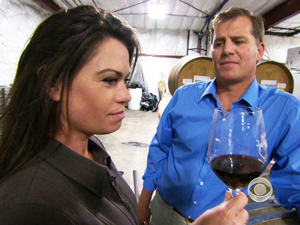 Todd Scully无法品尝他自己的葡萄酒,因为他正在采取药物来对抗谷热。
