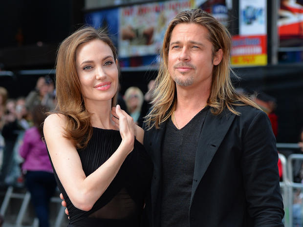 "Pitt, Jolie at ""World War Z"" London premiere"